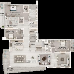 ONE - Wave Floor Plan